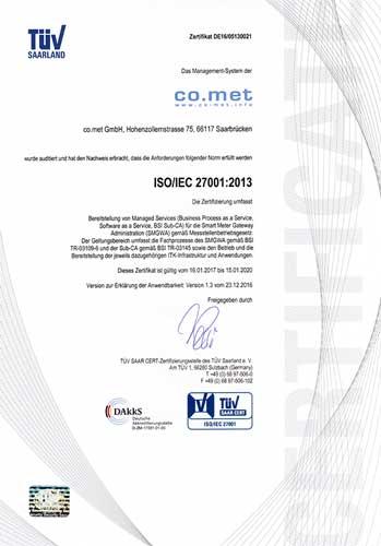 Zertifikat Gatewayadministration