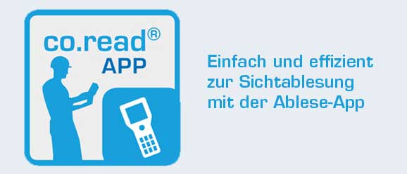 Sichtablesung Banner Ablese-App