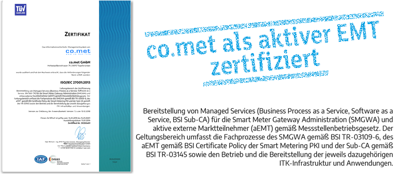 Erweiterung Der ISO 27001 Zertifizierung Als Aktiver EMT