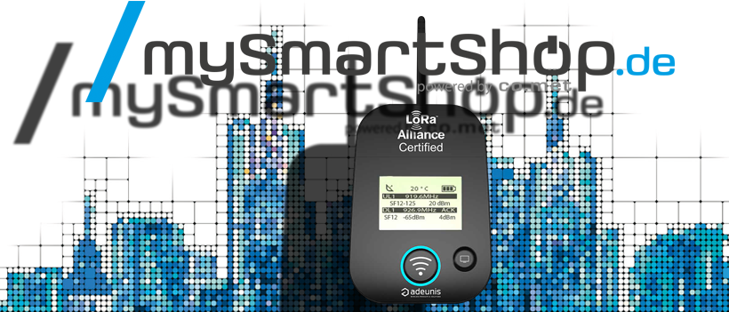 MySmartShop Portfolio Um LoRaWAN-Komponenten Erweitert