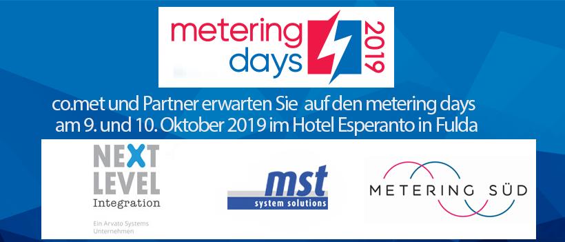 Einladung Mit Vergünstigtem Ticketcode – Metering Days 2019